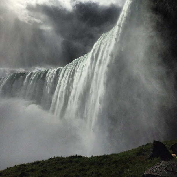 Niagara, dark and stormy.
