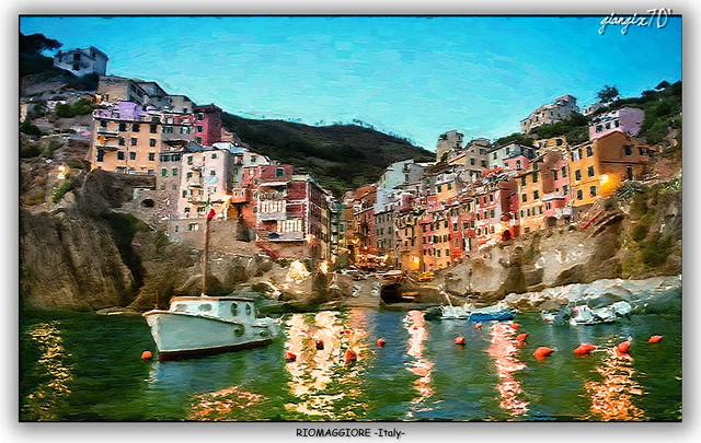 Rio Maggiore insenatura