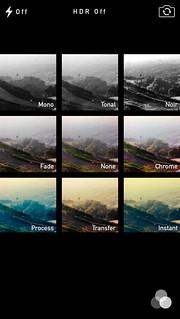 iOS7 Camera Filters
