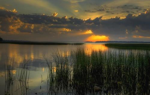 sky lake clouds sunrise day cloudy iowa clearlakeia mcintoshwoodsstatepark