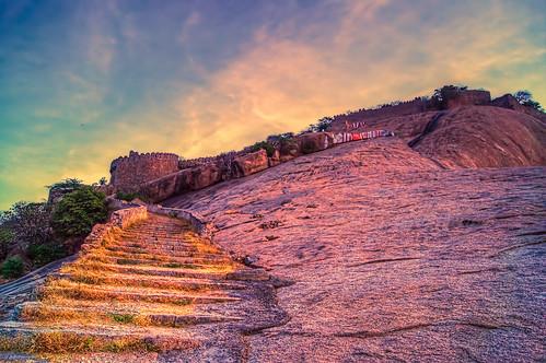 morning blue sunset sky sun india nature beauty sunshine stairs sunrise way landscape heaven fort path sony hell dslr hyderabad sunrays bhongir telangana a37 sonyalpha mrigank bhongiri alpha37 sonya37 sonyalpha37 mrigankgupta sonta37 flickr12days yahoo:yourpictures=bestof2013