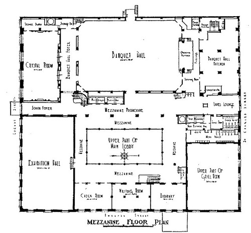 Downtown st louis has a secret ballroom preservation for Banquet hall floor plans