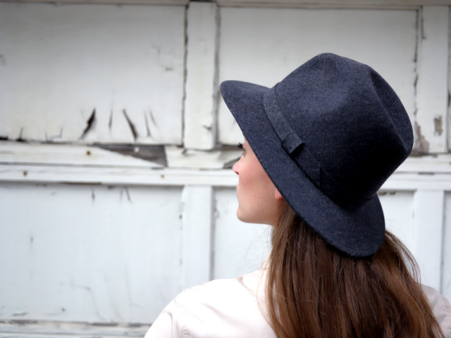 4 jcrew collaboration Bailey felt hat made in the USA