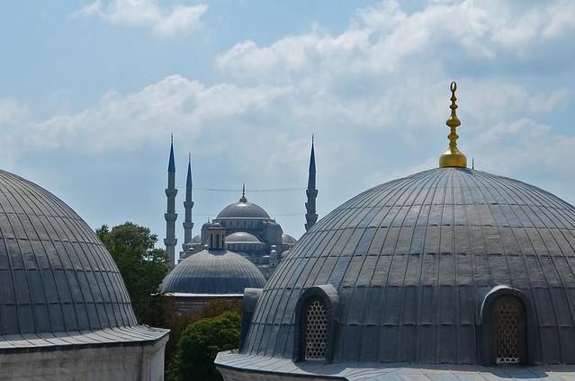 Vistas desde la mezquita de Santa Sophia