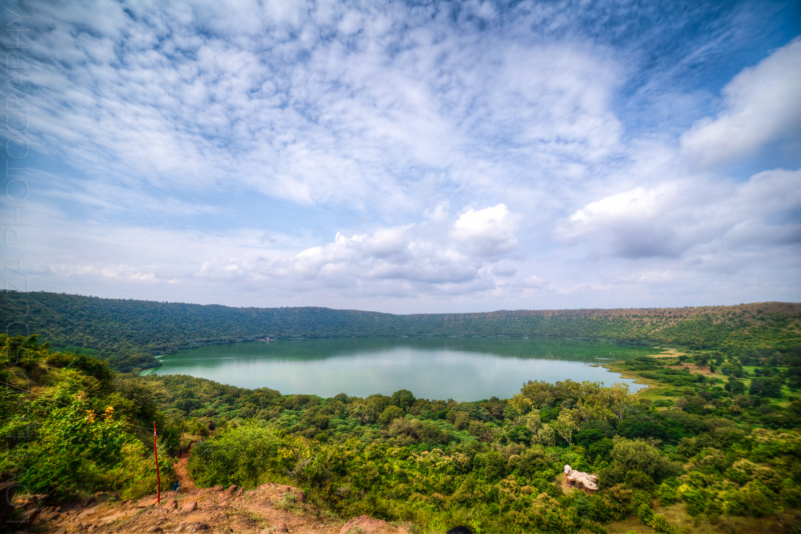 Lonar — A walk inside the meteorite crater