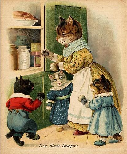 013- De drie katjes -1905-© Royal Library - Biblioteca Nacional de los Países Bajos