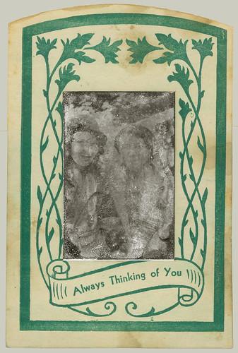 Tintype pair