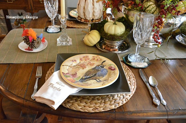 Thanksgiving Tablescape 2013