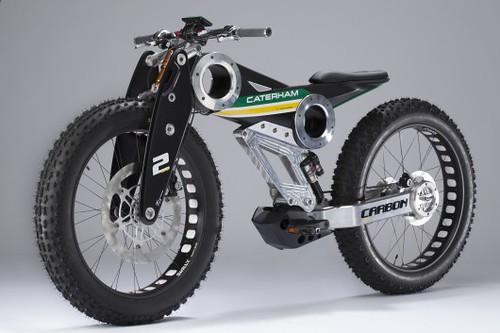 Caterham наладит производство электровелосипедов и мотоциклов