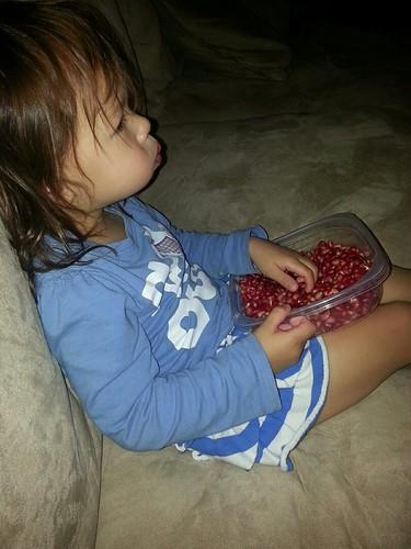 20131106_192315_EvieEatingPomegranates