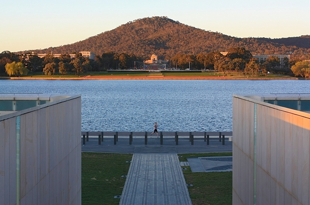 Commonwealth Place, Lake Burley Griffin, Canberra, ACT, Australia