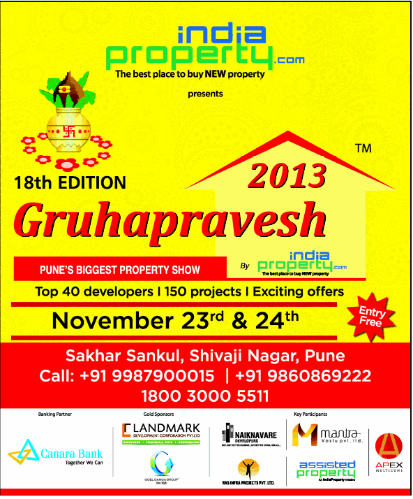 22-11-2013 India Property Gruhapravesh 2013