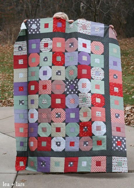 Christmas quilt - Happy-Go-Lucky