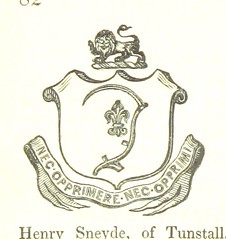 "British Library digitised image from page 110 of ""The Borough of Stoke-upon-Trent ... comprising its history, statistics, civil polity, and traffic, with biographical and genealogical notices of eminent individuals; ... also, the Manorial History of Newca"