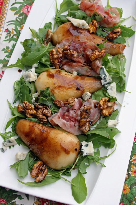 Salade de poire et Stilton
