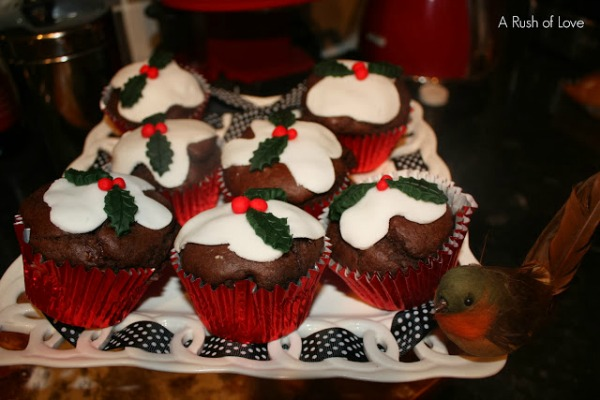 Christmas Chocolate muffins GP