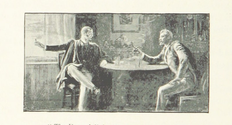 Image taken from page 100 of 'A Stumble on the Threshold. (Second edition.)'