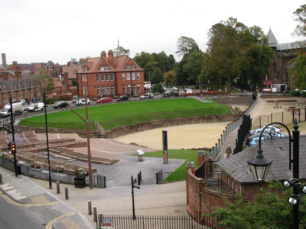Roman amphitheater (Chester)