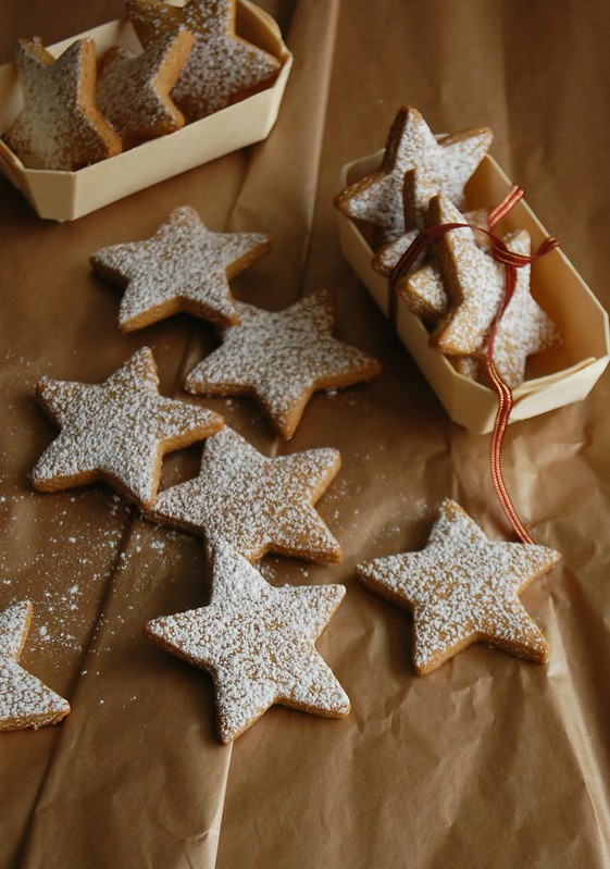 Gingerbread stars / Estrelinhas de gingerbread