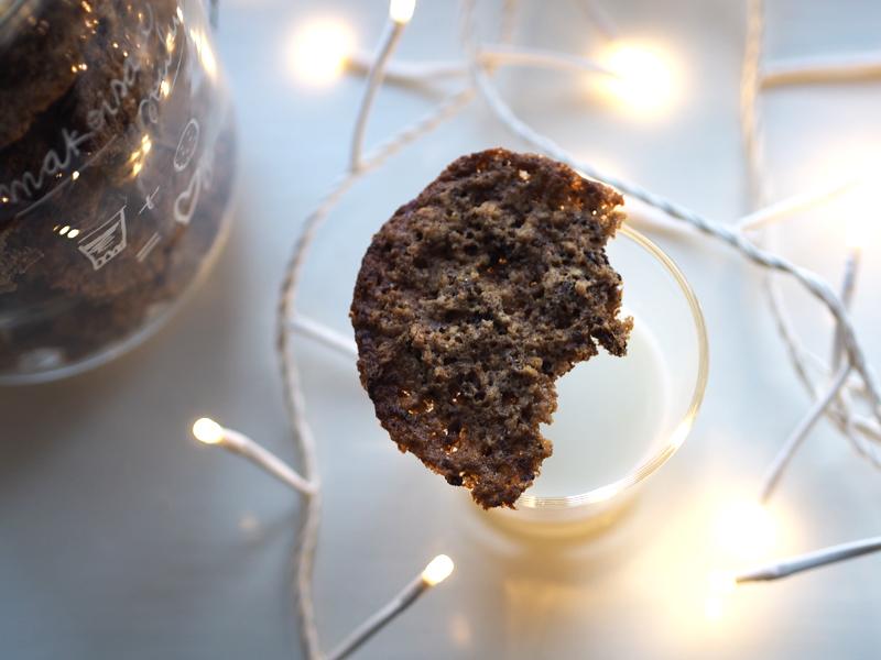 suklaapähkinäkeksit