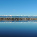 Front Range from Union Reservoir by Wild Bird Company