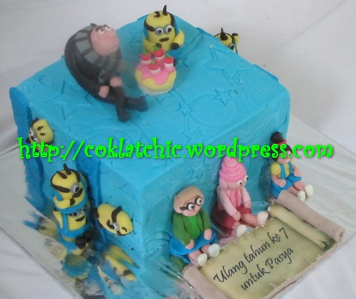 Cake Minion / cake despicable me