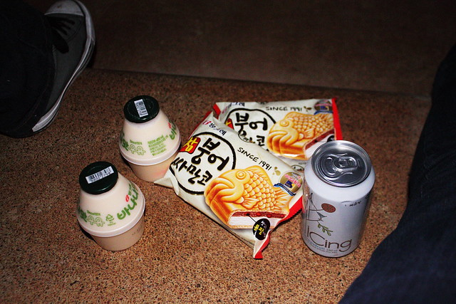 Snacks by the Han River