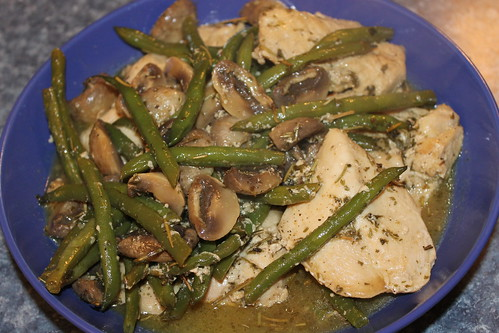 177/365/2003 (December 5, 2013) - One Pan Lemon Chicken with Green Beans