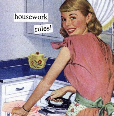 Hipster feminism or the new housewives - housework rules!
