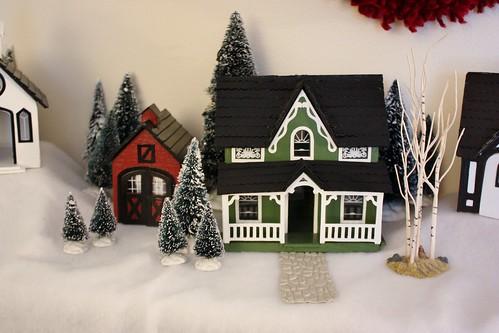 My Handmade Christmas Village Life At Cloverhill