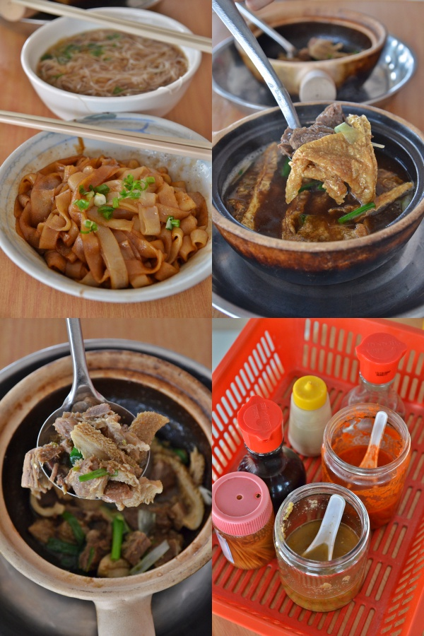 Collage Do Do Do Beef Noodles