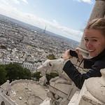 Sacré-Cœur and the Eiffel Tower