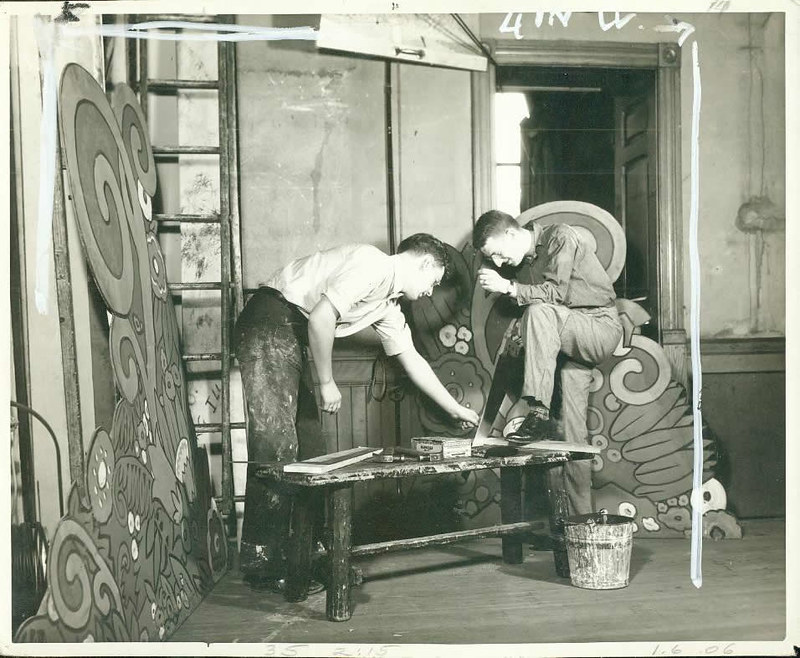 Peer Gynt Set Construction - 1935