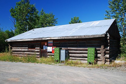 Kleena Kleene Post Office, Highway 20, Chilcotin, British Columbia
