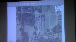 Decorative Special Tax Lighting District -- Windstone Subdivision (Orr Rd)