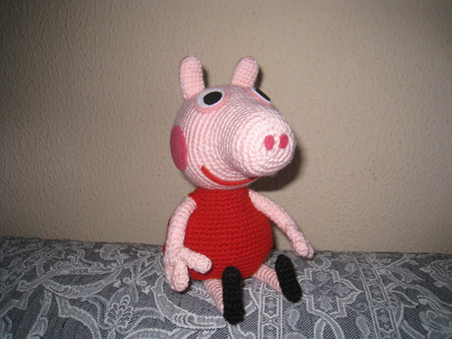 Amigurumi Peppa Pig