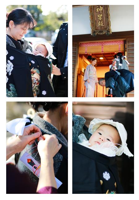 お宮参り 瀬戸市 深川神社 赤ちゃん写真 出張撮影 自宅 家族写真 ロケーション撮影