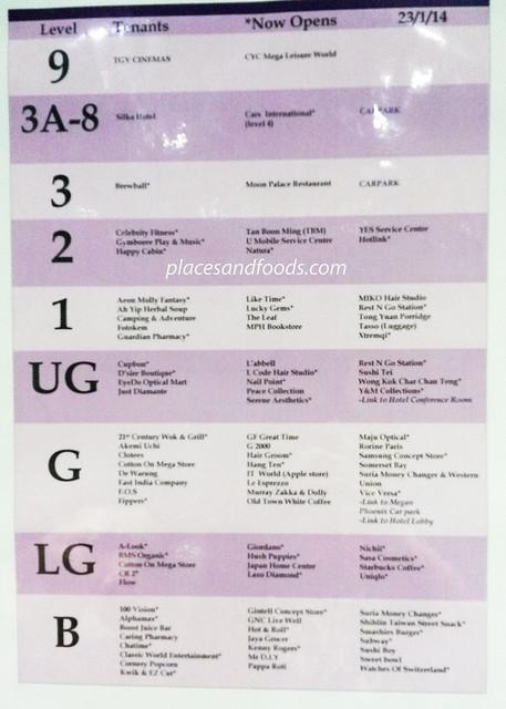 cheras sentral directory