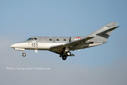 133 Dassault Falcon 10MER by Jersey Airport Photography