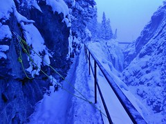 Ouray Ice Park - Report Card Anchor 9