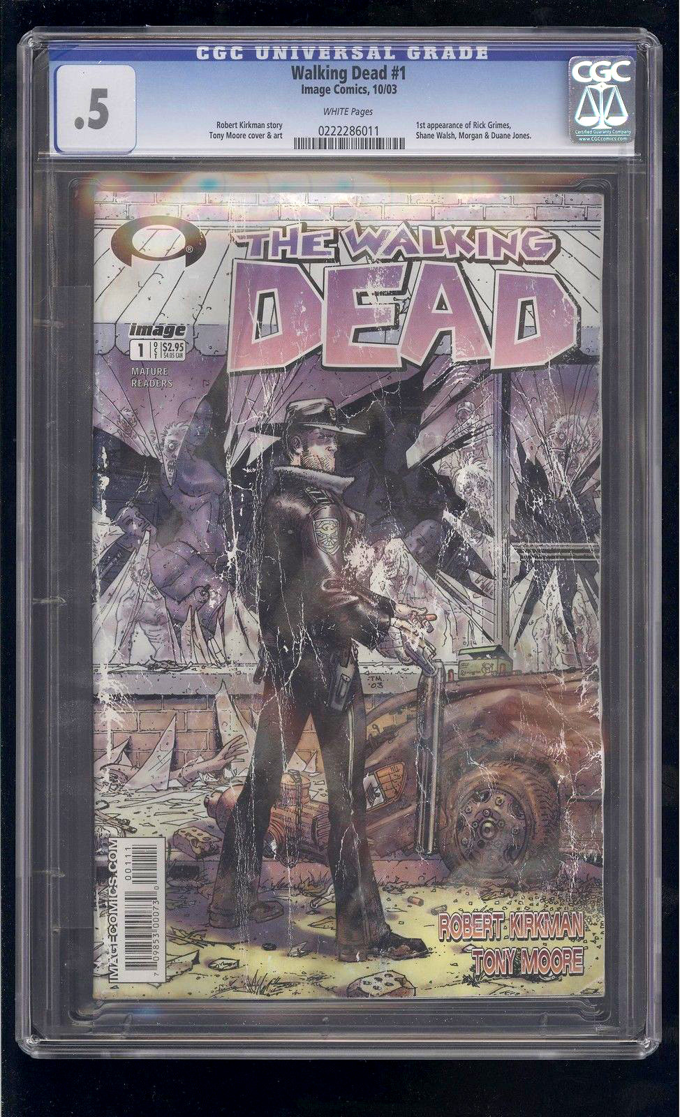 The Walking Dead CGC .5