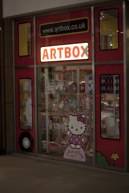 Artbox Covent Garden store front