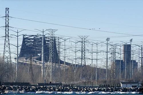 bridge winter industry lakemichigan greatlakes nikkor600mmf4edais sonyalpha7rilce7ra7r nikontc301teleconverter2x