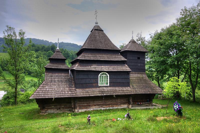 Tserkvas de madera patrimonio de la Humanidad