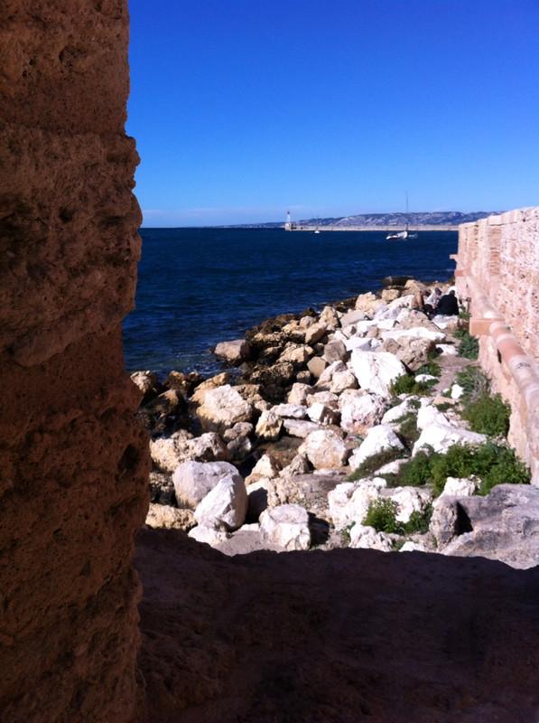 Vu de Marseille