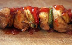 Pinchos de Pollo Frito 033