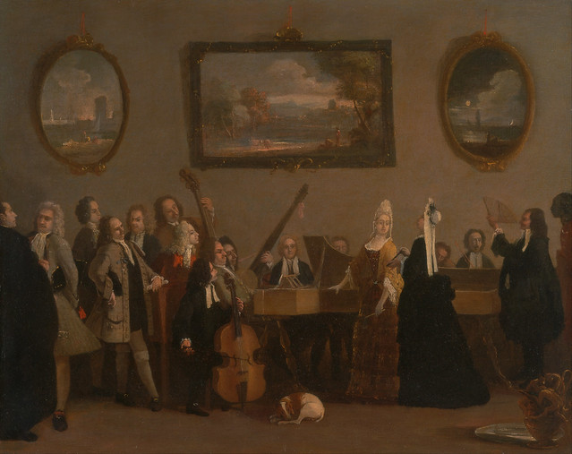 Rehearsal of an opera by Marco Ricci (1767–1830)