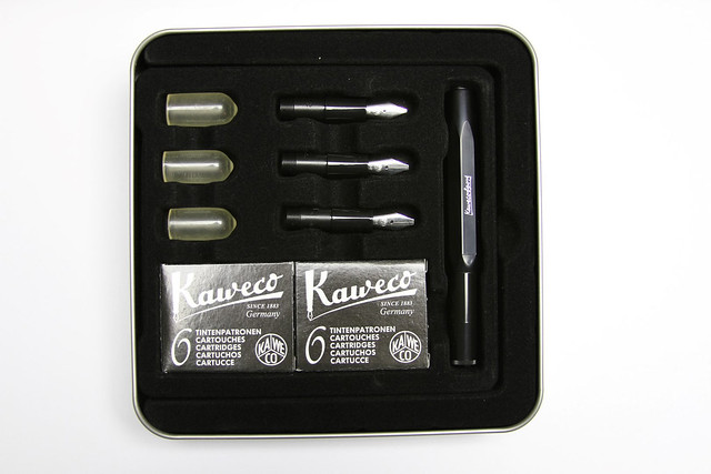 Review: @Kaweco Calligraphy Pen Set - Black Body @JetPens