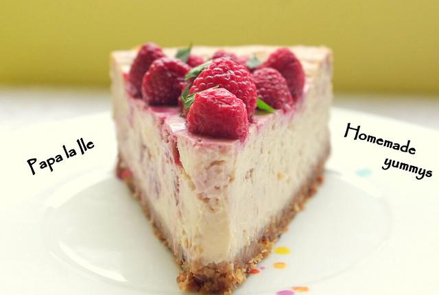 Cheesecake cu zmeura (1)