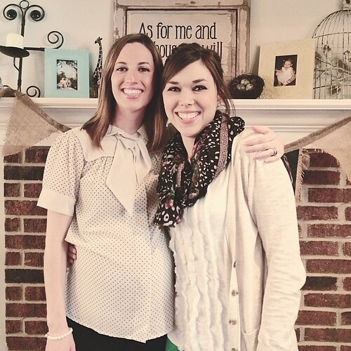 Enjoyed the morning with sweet friends. Can't wait to meet baby Reese!